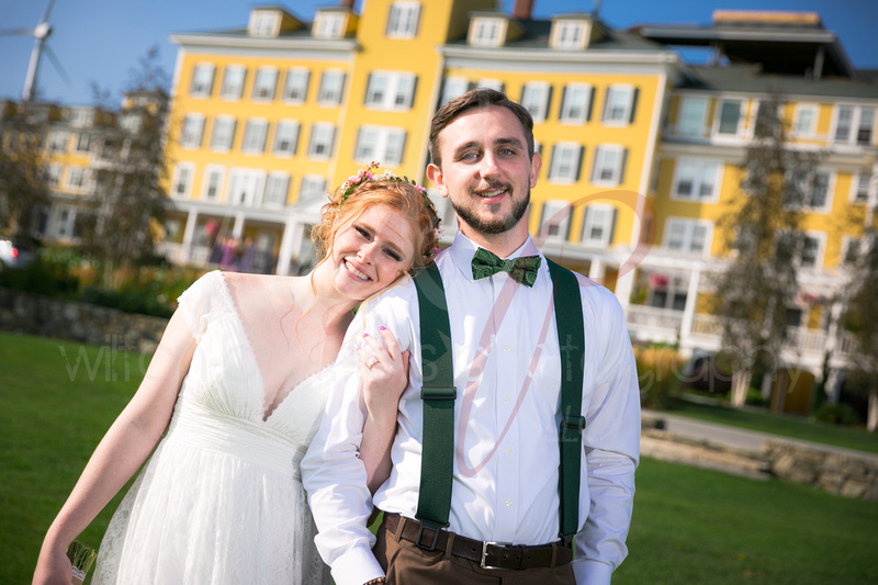 couple married at the Mountain View Grand in Whitefield NH