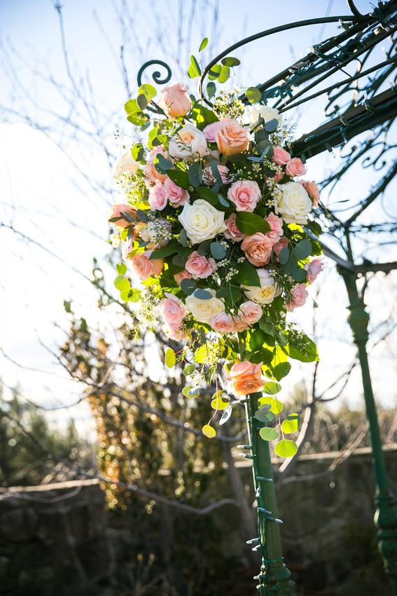 Flowers on Arbor