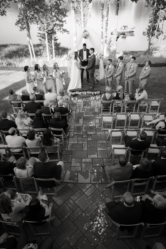 Overlooking ceremony