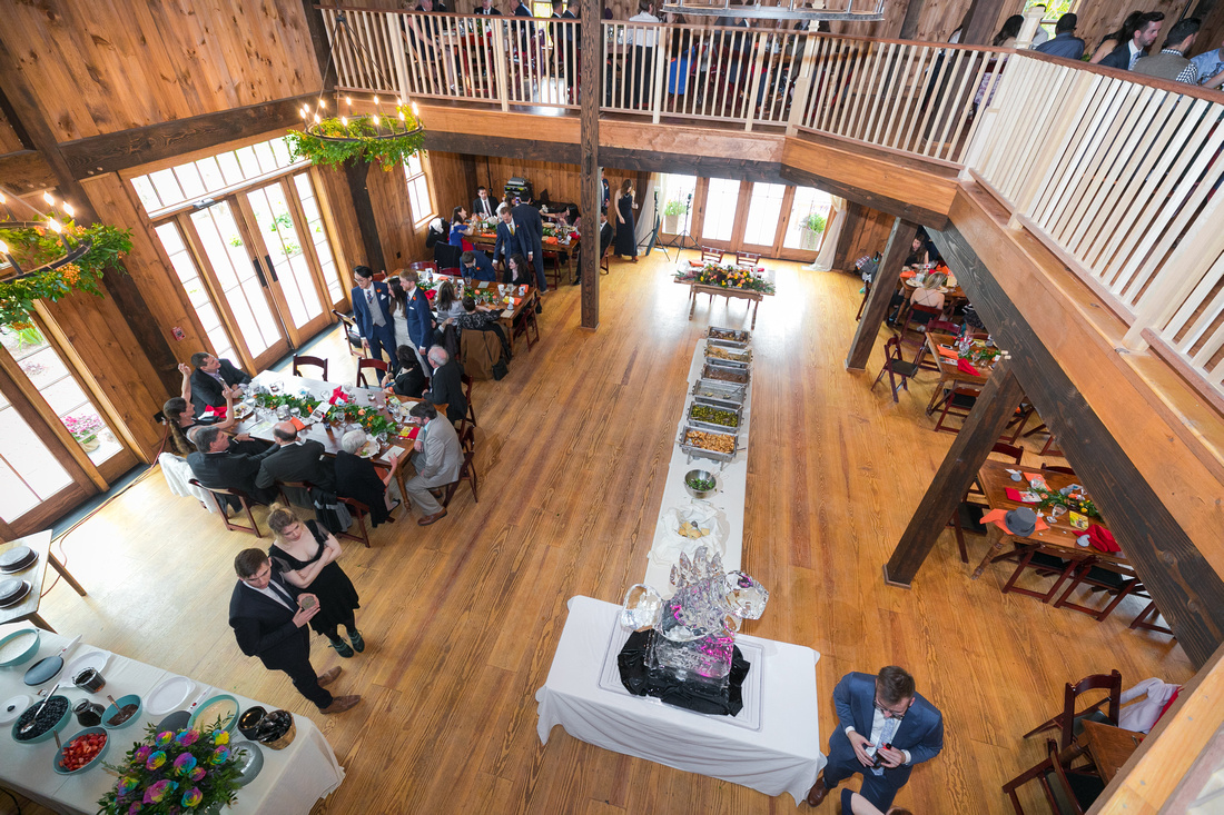 Reception Space in the barn