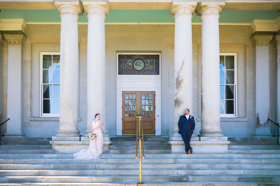 Bride and Groom at State House